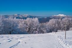 Bieszczady zimą Ewa Szydłowska Masaże ajurwedyjskie i orientalne w Bieszczadach