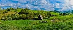 Bieszczady - bacówka w okolicach Stężnicy, Tyskowej i Radziejowej Ewa Szydłowska Masaże ajurwedyjskie i orientalne w Bieszczadach