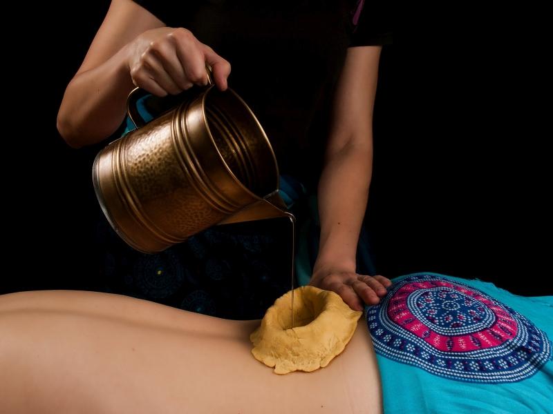 Kati Vasti masaż ajurwedyjski Ewa Szydłowska Masaże ajurwedyjskie i orientalne w Bieszczadach